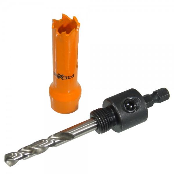 Bi-Metall Lochsäge mit Adapter